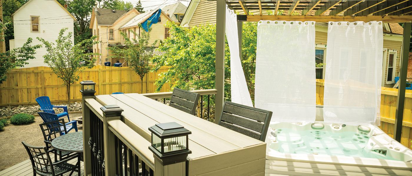 Regan Landscape Outdoor Living Space