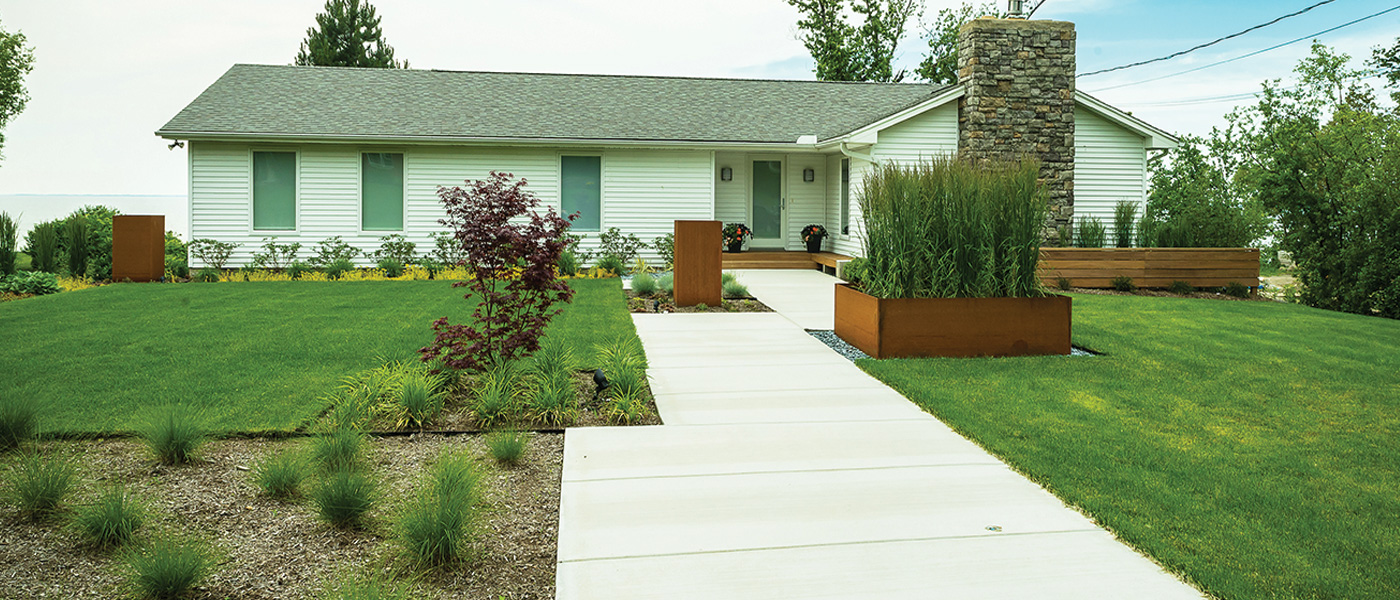 Regan Landscape modern design